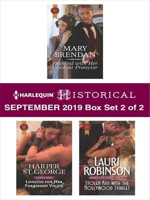 cover image of Harlequin Historical September 2019, Box Set 2 of 2