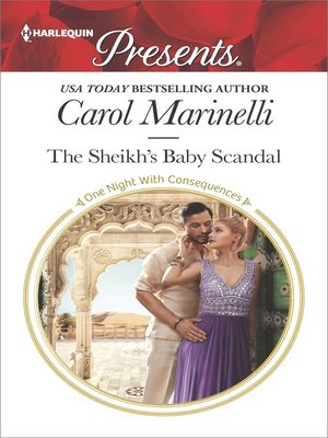 cover image of The Sheikh's Baby Scandal