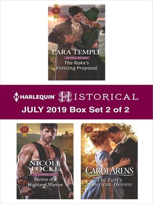 cover image of Harlequin Historical July 2019, Box Set 2 of 2