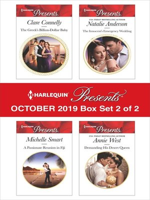 cover image of Harlequin Presents: October 2019, Box Set 2 of 2