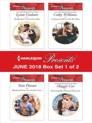 cover image of Harlequin Presents June 2018--Box Set 1 of 2