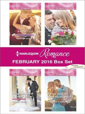 cover image of Harlequin Romance February 2016  Box Set