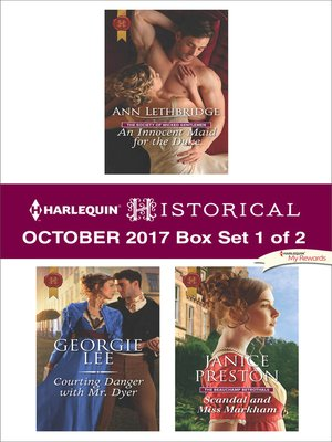cover image of Harlequin Historical October 2017--Box Set 1 of 2