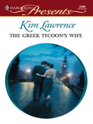 cover image of Greek Tycoon's Wife