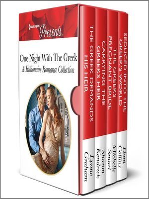 cover image of One Night With the Greek--A Billionaire Romance Collection