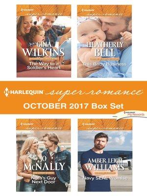cover image of Harlequin Superromance October 2017 Box Set