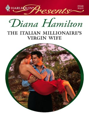 cover image of The Italian Millionaire's Virgin Wife