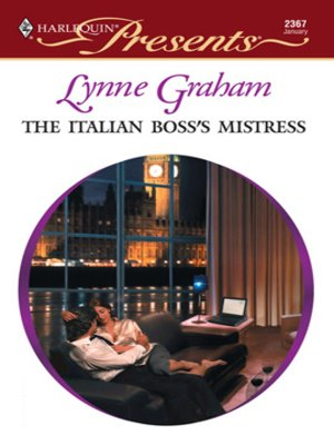 cover image of The Italian Boss's Mistress