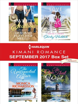 cover image of Harlequin Kimani Romance September 2017 Box Set