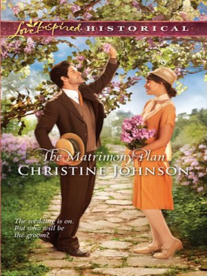 cover image of The Matrimony Plan