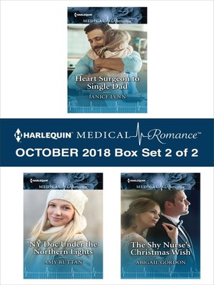 cover image of Harlequin Medical Romance October 2018--Box Set 2 of 2