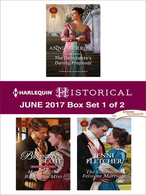cover image of Harlequin Historical June 2017--Box Set 1 of 2