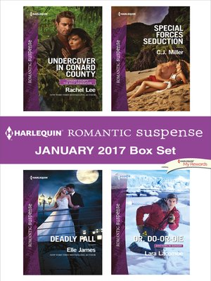 cover image of Harlequin Romantic Suspense January 2017 Box Set