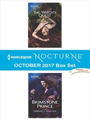 cover image of Harlequin Nocturne October 2017 Box Set