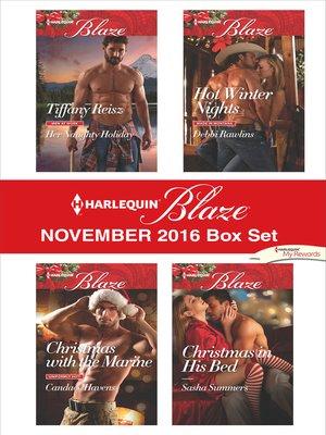 cover image of Harlequin Blaze November 2016 Box Set