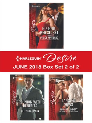 cover image of Harlequin Desire June 2018--Box Set 2 of 2