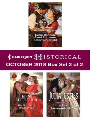 cover image of Harlequin Historical October 2018, Box Set 2 of 2