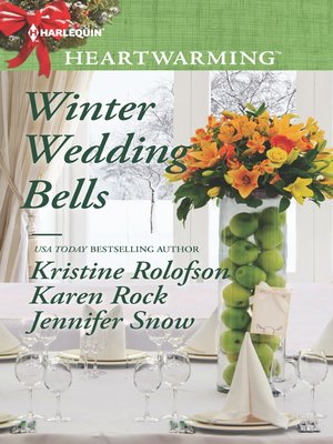 cover image of Winter Wedding Bells: The Kiss\The Wish\The Promise