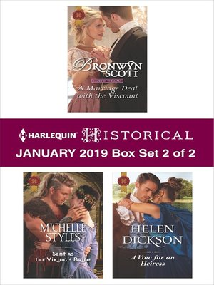 cover image of Harlequin Historical January 2019, Box Set 2 of 2