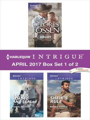 cover image of Harlequin Intrigue April 2017, Box Set 1 of 2