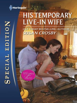 cover image of His Temporary Live-in Wife