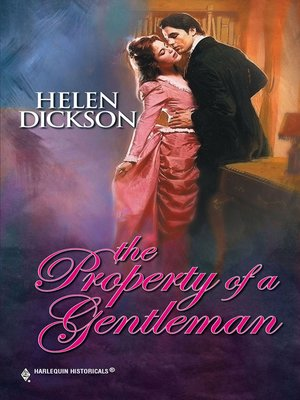 cover image of The Property of a Gentleman