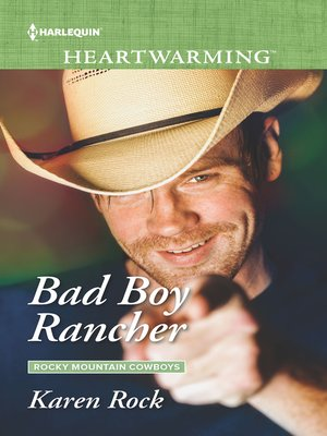 cover image of Bad Boy Rancher--A Clean Romance