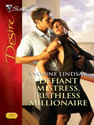 cover image of Defiant Mistress, Ruthless Millionaire