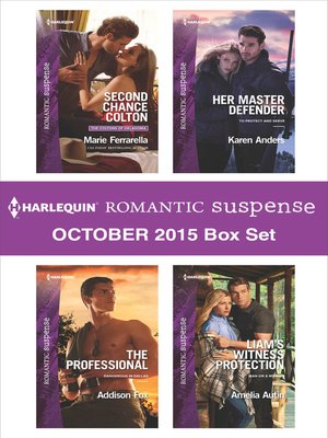 cover image of Harlequin Romantic Suspense October 2015 Box Set