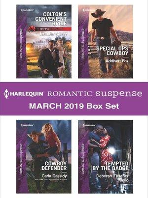 cover image of Harlequin Romantic Suspense March 2019 Box Set