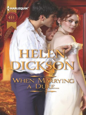 cover image of When Marrying a Duke...