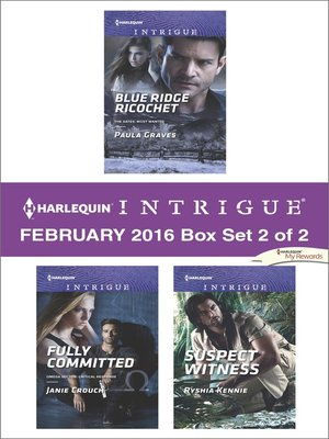 cover image of Harlequin Intrigue February 2016, Box Set 2 of 2
