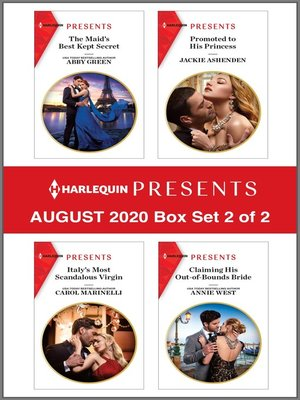 cover image of Harlequin Presents--August 2020--Box Set 2 of 2