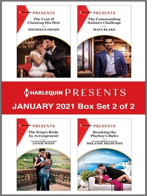 cover image of Harlequin Presents--January 2021--Box Set 2 of 2