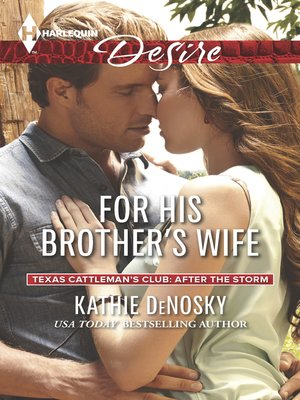 cover image of For His Brother's Wife