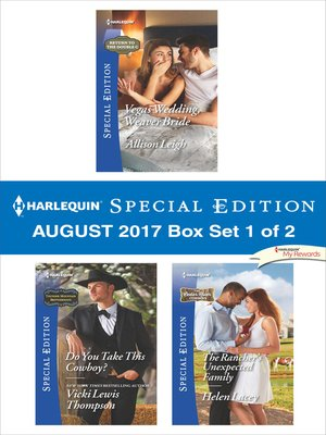 cover image of Harlequin Special Edition August 2017 Box Set 1 of 2