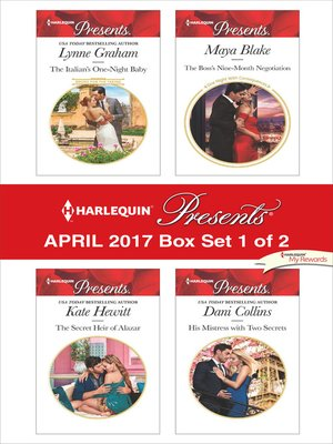 cover image of Harlequin Presents April 2017, Box Set 1 of 2