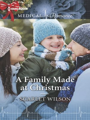 cover image of A Family Made at Christmas