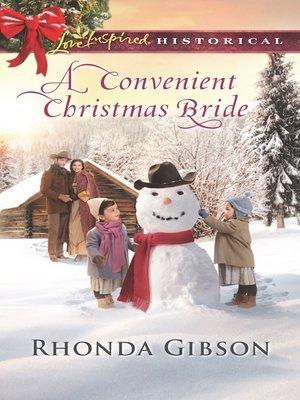 cover image of A Convenient Christmas Bride