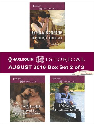 cover image of Harlequin Historical August 2016--Box Set 2 of 2
