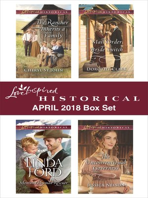 cover image of Love Inspired Historical April 2018 Box Set