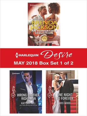cover image of Harlequin Desire May 2018--Box Set 1 of 2