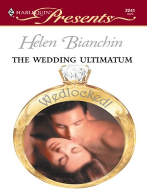 cover image of The Wedding Ultimatum