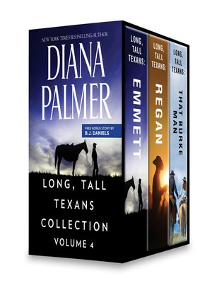 cover image of Long, Tall Texans Collection Volume 4--Long, Tall Texans