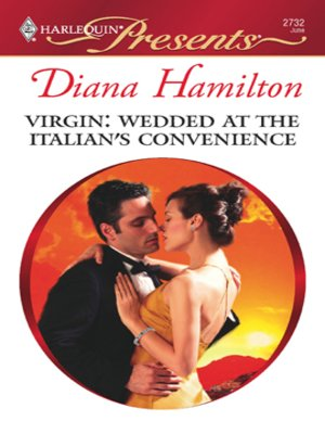 cover image of Virgin: Wedded at the Italian's Convenience
