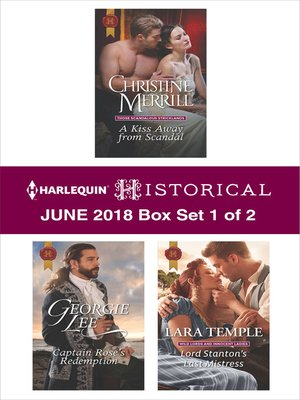 cover image of Harlequin Historical June 2018--Box Set 1 of 2