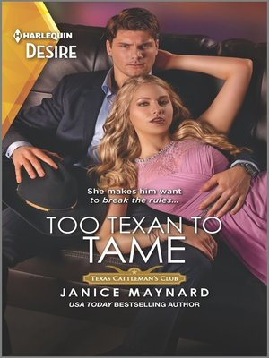 cover image of Too Texan to Tame