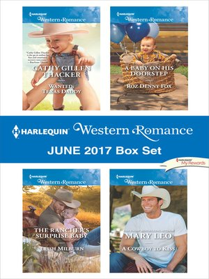 cover image of Harlequin Western Romance June 2017 Box Set