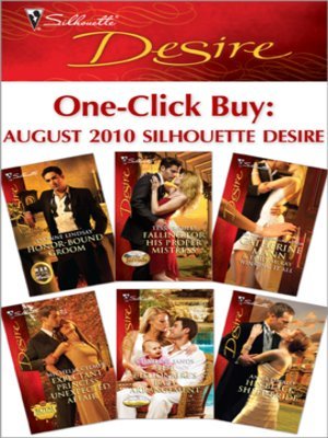 cover image of August 2010 Silhouette Desire