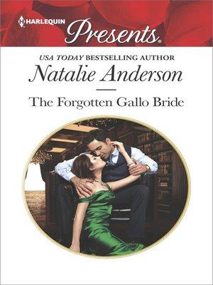 cover image of The Forgotten Gallo Bride
